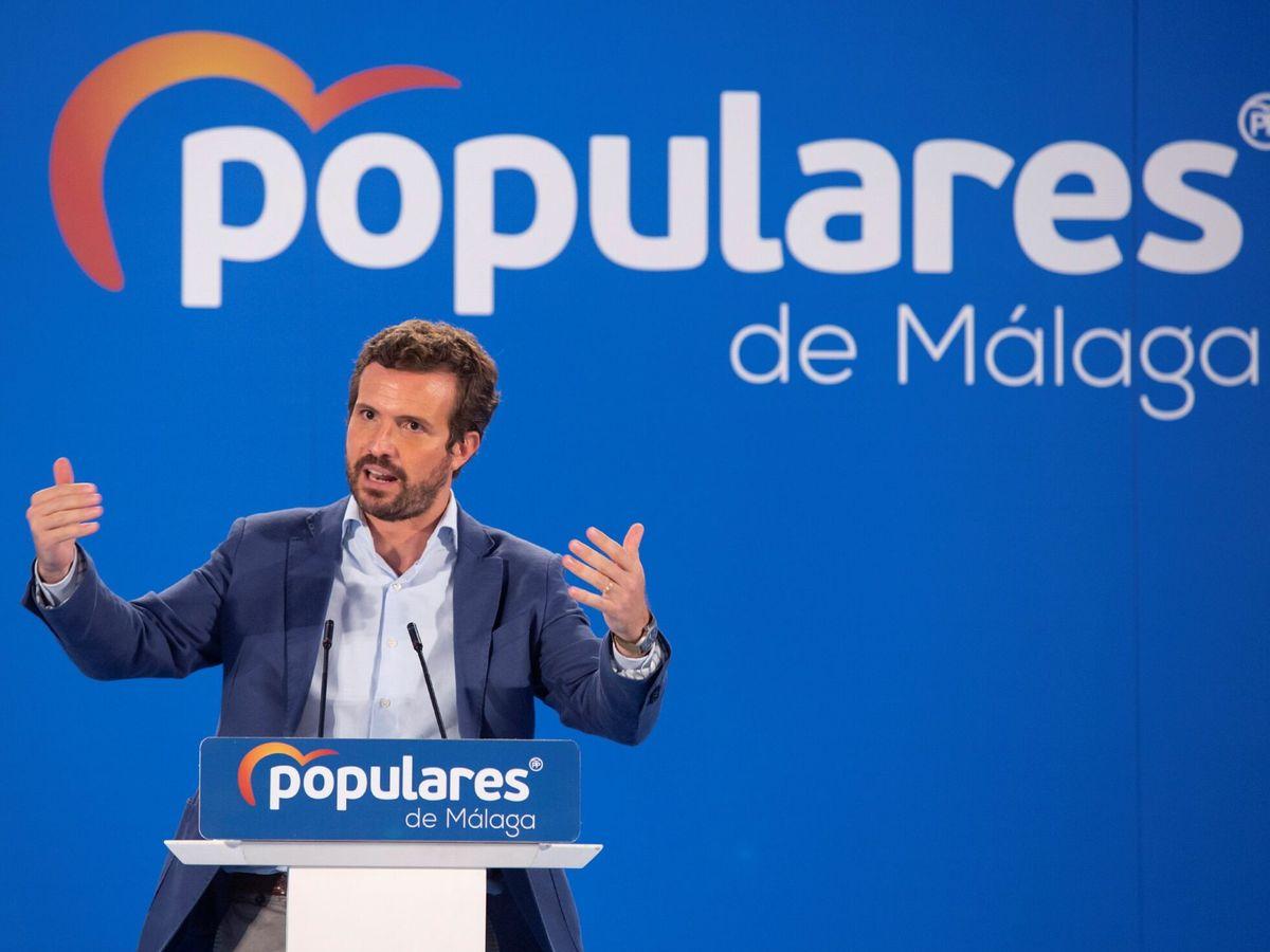 Foto: Casado reta a sánchez a pactar el lunes renovar el cgpj pero con su propuesta
