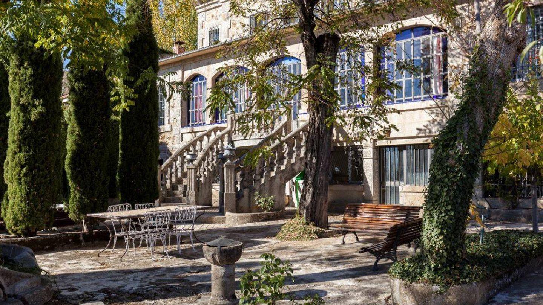 Fachada de la mansión de Ramón y Cajal.