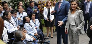 Post de Las arrugas (en la ropa) de la reina Letizia en su segundo día en Perú