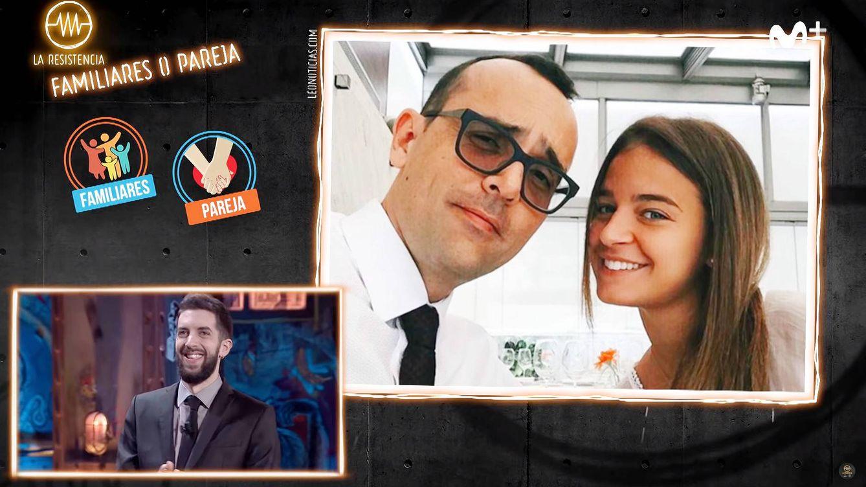 'La resistencia' se mofa de Risto Mejide y la diferencia de edad con Laura Escanes