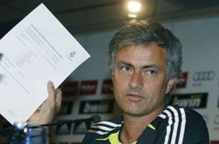 Foto: Mourinho en estado puro: el fin justifica los medios