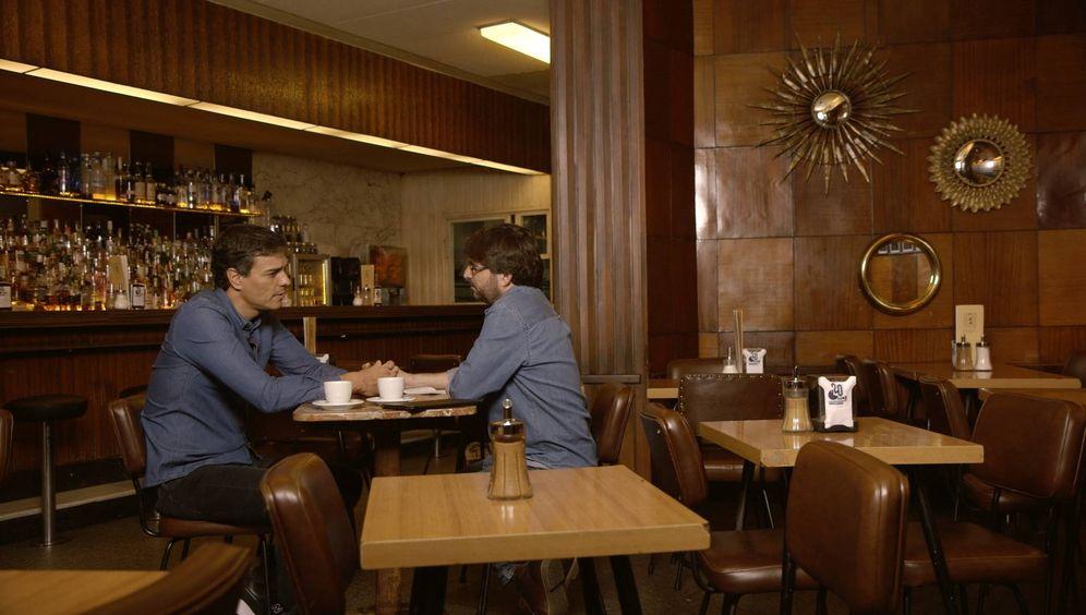 Foto: Pedro Sánchez, durante su entrevista con Jordi Évole en 'Salvados', en La Sexta, el pasado 30 de octubre. (L6)