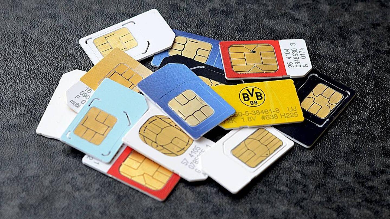 La tarjeta SIM.
