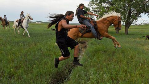 Cabalgando con los nativos americanos