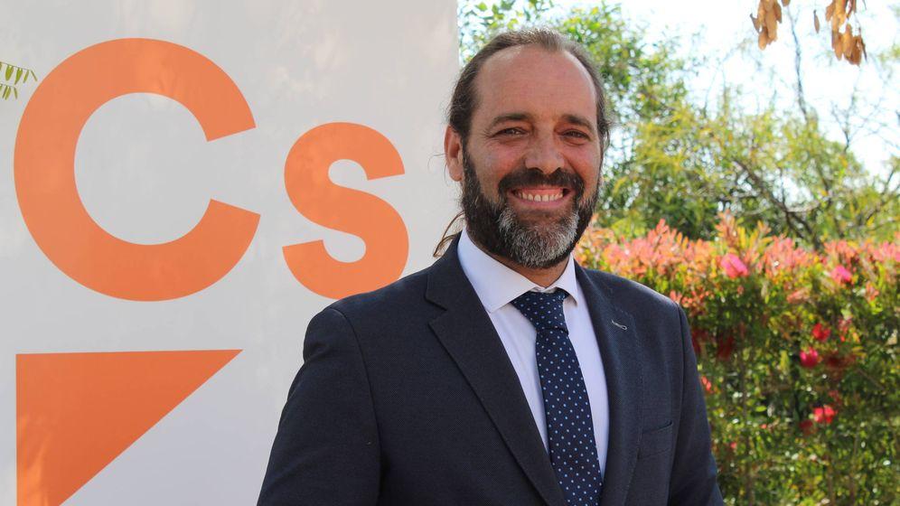 Foto: Juan Cassá, candidato de Ciudadanos a la Alcaldía de Málaga.