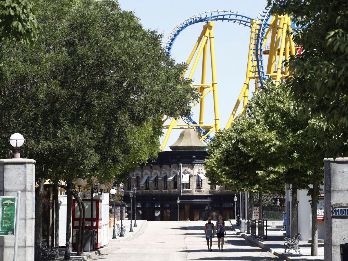 Foto: Parque Warner, en Madrid. (EFE)