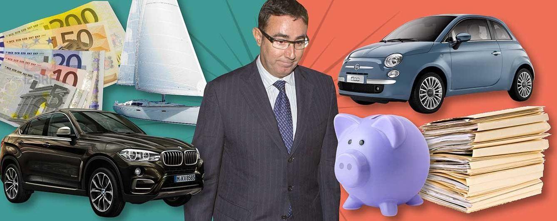 Foto: De un BMW a un Fiat 500: así es la nueva vida 'low cost' de Diego Torres