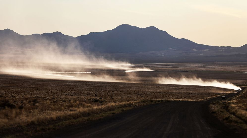 Foto: Estos materiales podrían haber salido de la famosa Área 51. (Reuters)