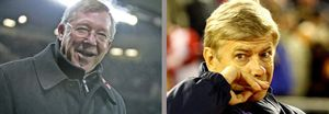 Arsene Wenger encuentra en Alex Ferguson su adversario intelectual
