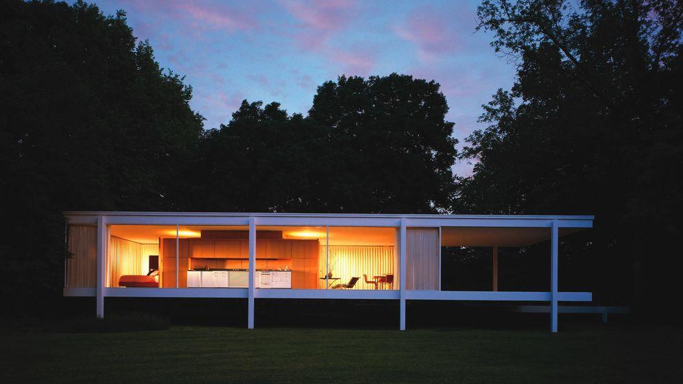 Arquitectura el lado oscuro de farnsworth house la casa for Las casas mas hermosas del mundo