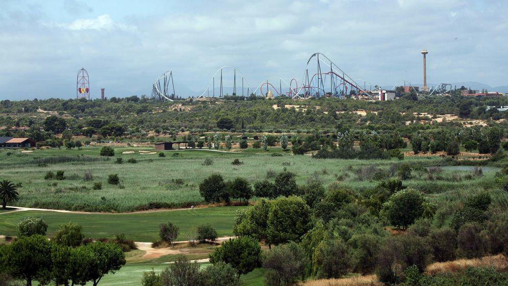 Foto: Vista de los terrenos próximos a Port Aventura en los que se instalará el complejo Barcelona World que se llamará finalmente Hard Rock Entertainment World. (EFE)