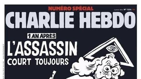 El asesino sigue suelto:  la portada de Charlie Hebdo en el aniversario de la matanza