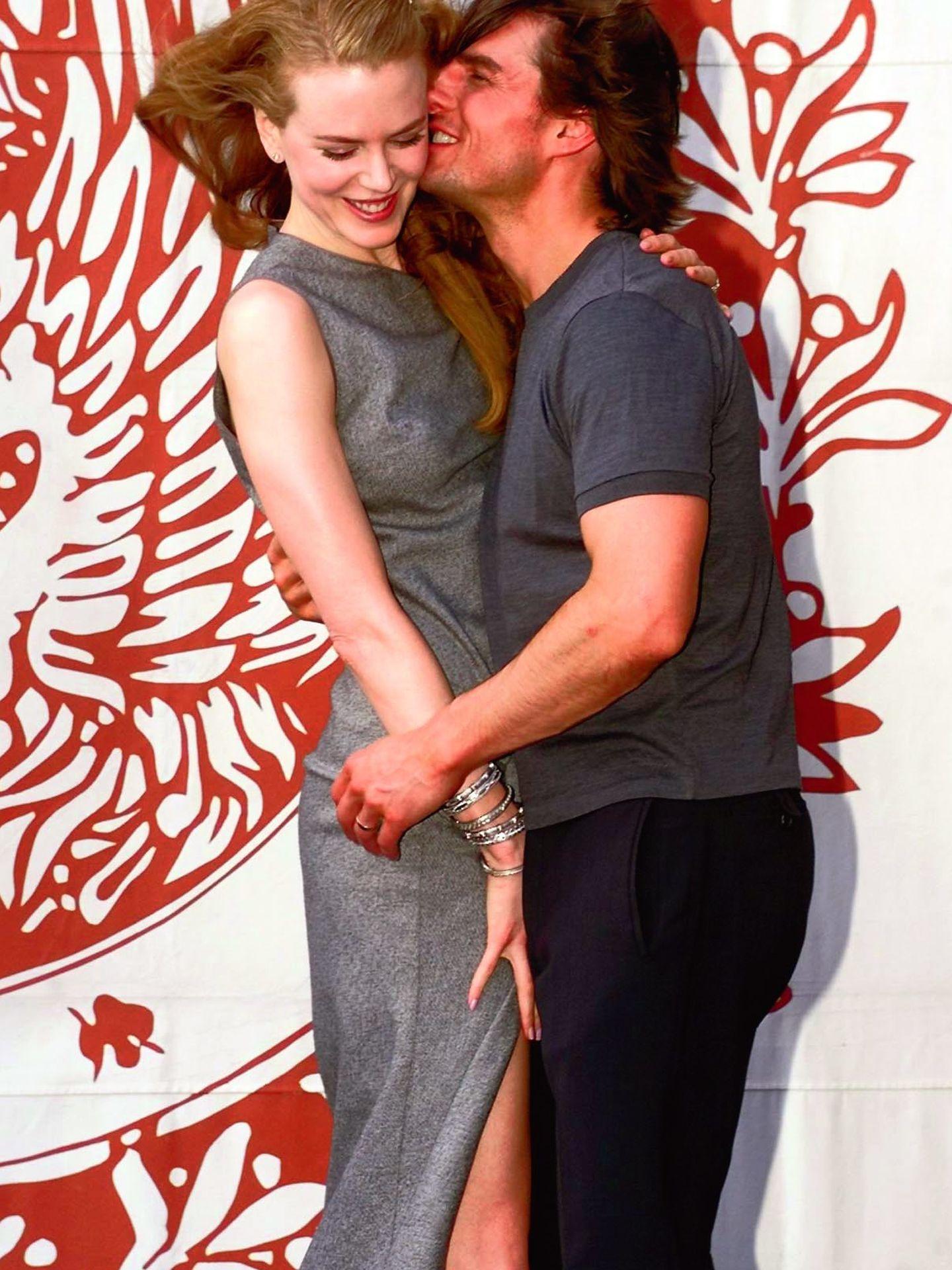 Tom Cruise y Nicole Kidman cuando eran pareja (Gtres)