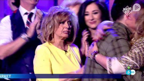 María Teresa Campos se derrumba en el adiós de 'QTTF': Volveré pronto a Mediaset