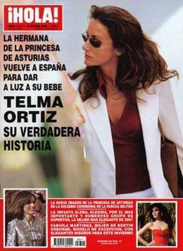 Foto: La verdadera vida de Telma Ortiz