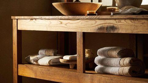 Un baño de lujo en el que relajarse necesita estas toallas de Zara Home