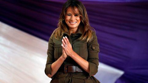 Melania Trump vuelve a confiar en Zara tras liarla con su polémica chaqueta