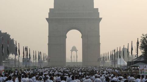 El problema de polución de la India