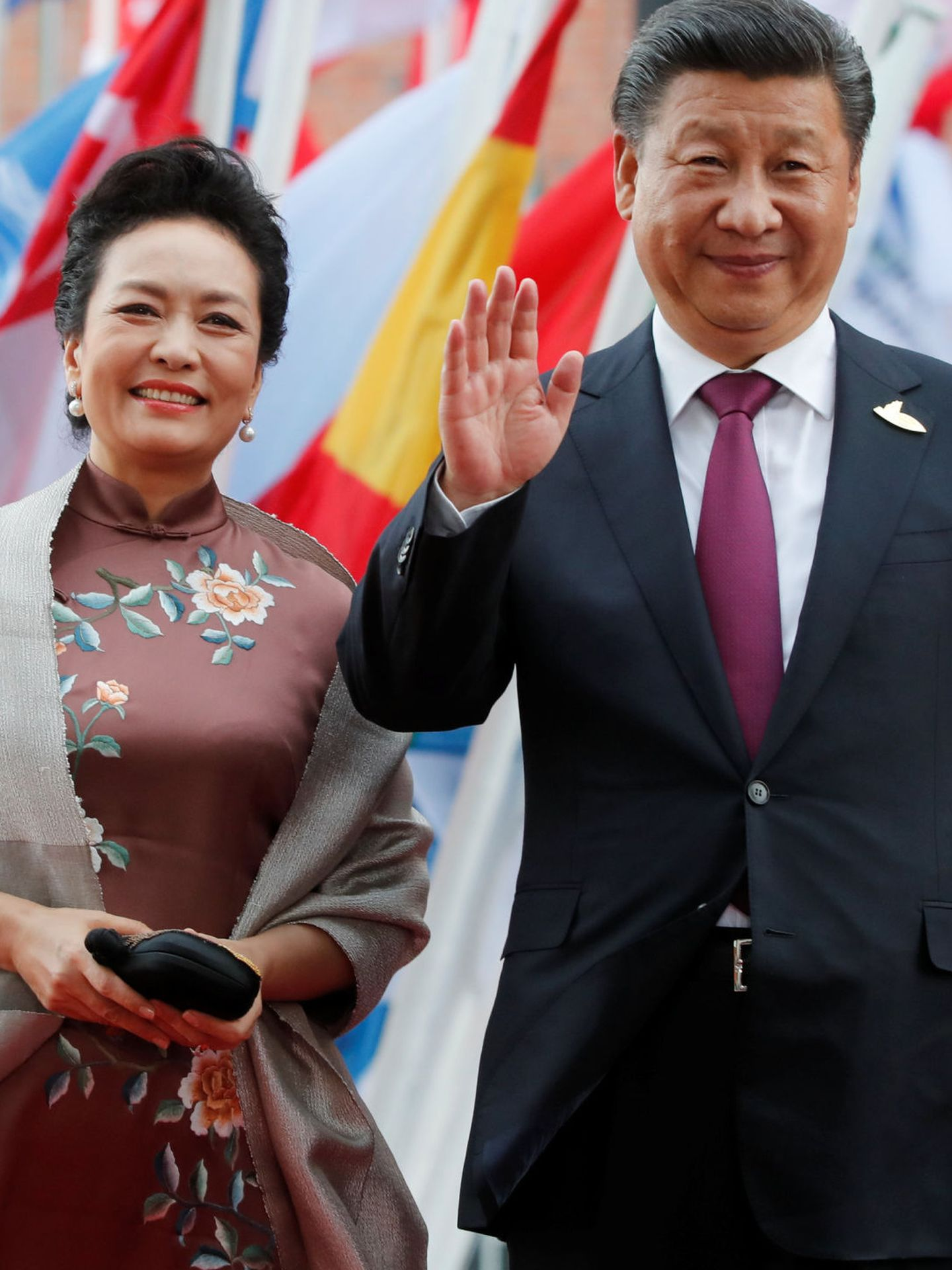 El matrimonio Jinping. (Reuters)