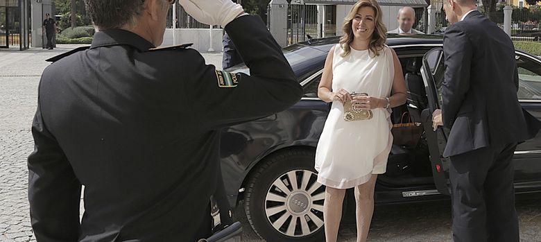 Foto: Susana Díaz en su toma de posesión como presidenta de la Junta de Andalucía (García Cordero)