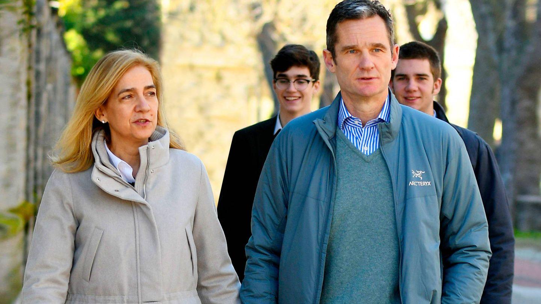 Urdangarin y la infanta Cristina, en una imagen de archivo. (Getty)