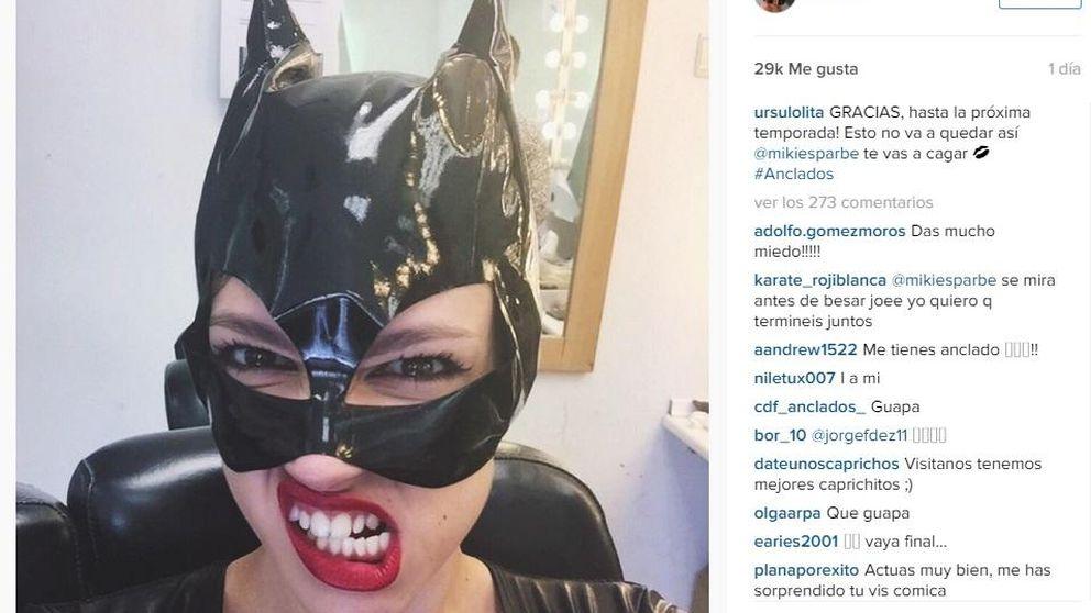 Úrsula Corberó, una gatita muy salvaje en cuero en la piel de Catwoman