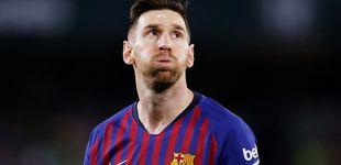 Post de La 'cagada' que tiene que limpiar Messi en la Champions (el Real Madrid es el ejemplo)