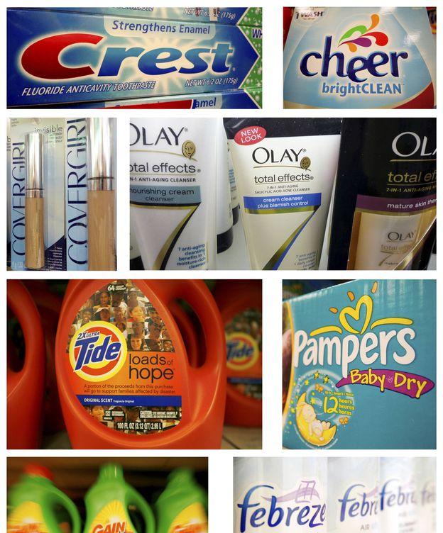 Foto: Varios productos de Procter & Gamble. (Reuters)