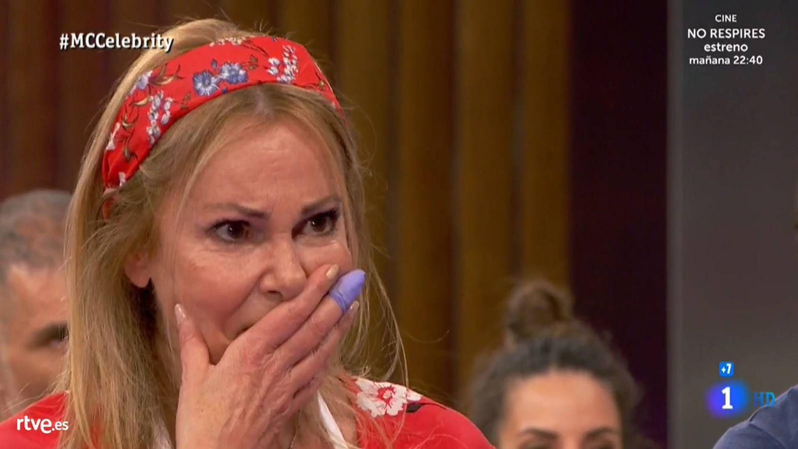 Foto: Ana García Obregón, en 'Masterchef Celebrity 4'. (TVE)