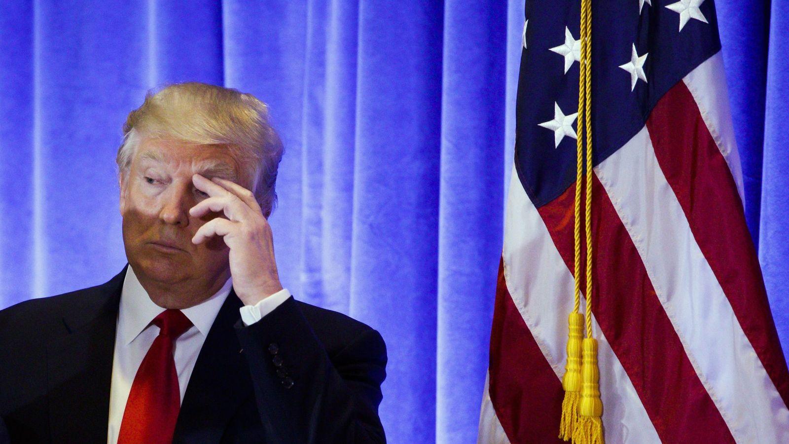 Foto:  El presidente electo de Estados Unidos, Donald Trump. (EFE)