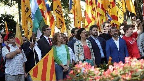 Siga en directo la manifestación de la Diada en Barcelona