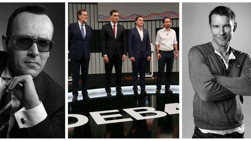 Los televisivos se mojan en Twitter con el 'Debate a cuatro'
