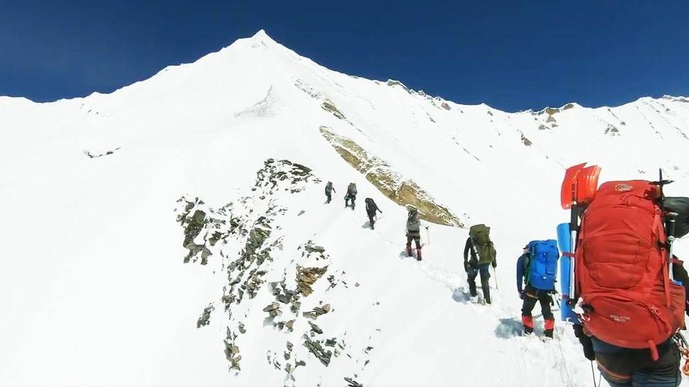 Foto: Las últimas imágenes de los escaladores que murieron en el Himalaya. (Redes sociales)