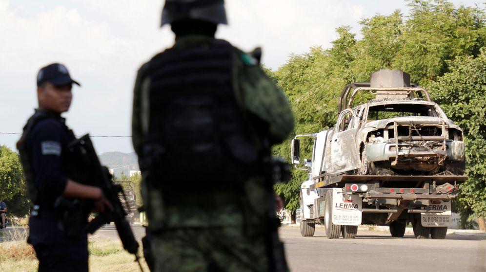 Foto: Policía en Michoacán, en una foto de archivos. (Reuters)