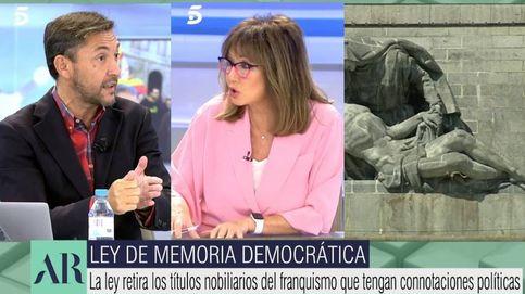 Javier Ruiz se enfrenta con Ana Rosa por la Ley de Memoria Democrática