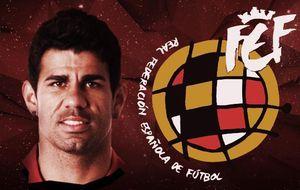 Diego Costa ya es un futbolista más de la Roja campeona de Del Bosque