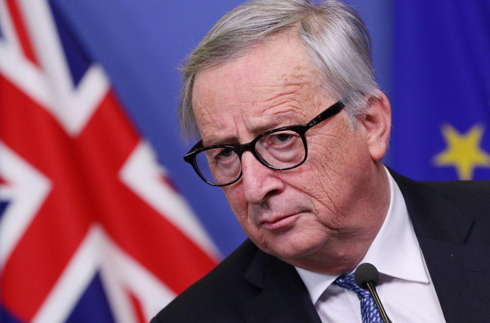 Foto: Jean-Claude Juncker durante una rueda de prensa en Bruselas. (Reuters)