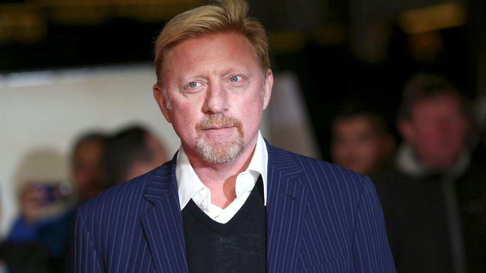 Foto: Boris Becker, en un acto reciente en Londres. (Reuters)