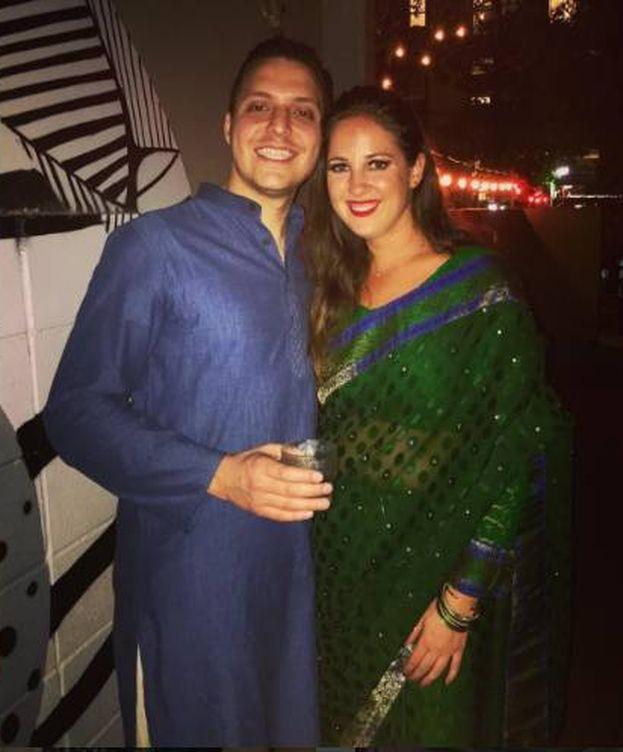 Foto: La princesa Teodora junto a su novio (Instagram)