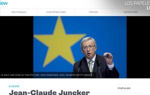 Bloomberg pide que dimita Juncker por los 'papeles de Luxemburgo'
