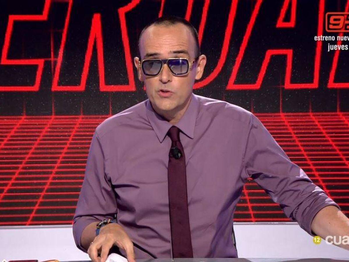 Foto: Risto Mejide, en 'Todo es verdad'. (Mediaset España)
