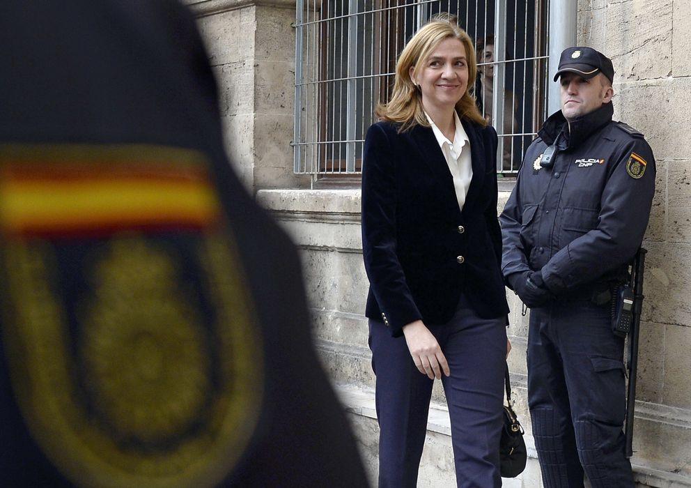 Foto: La infanta Cristina el pasado 8 de febrero en los juzgados de Palma de Mallorca. (Gtres)