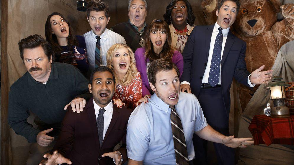 Foto: Imagen promocional de la serie de la NBC 'Parks and Recreation'.