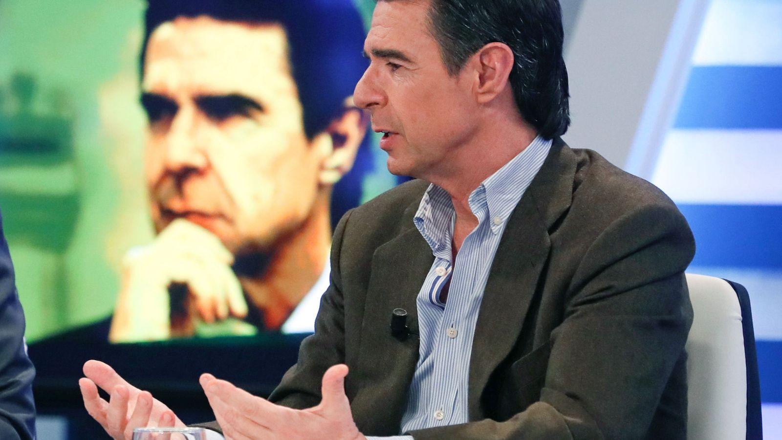 Foto: El exministro de Industria, Energía y Turismo, José Manuel Soria, en un programa de televisión. (EFE)