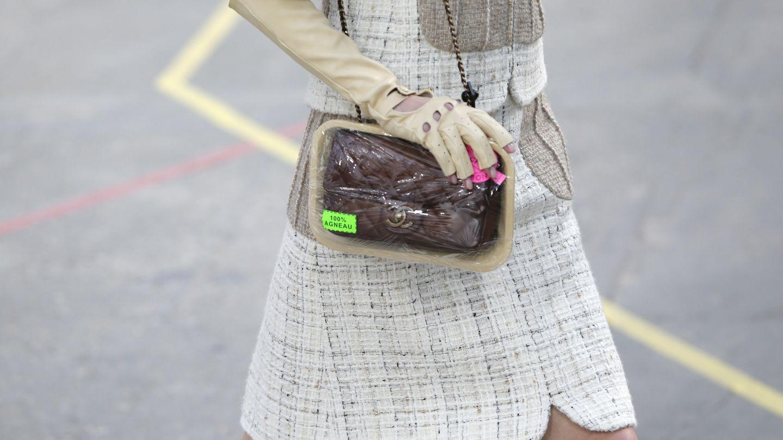 Bolso envasado al vacío de Chanel (Foto: I.C)