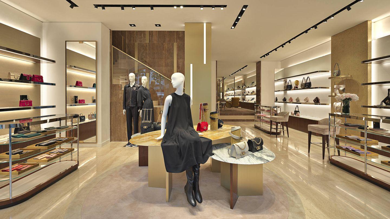 Imagen del interior de la nueva tienda de Salvatore Ferragamo en Madrid. (Cortesía)
