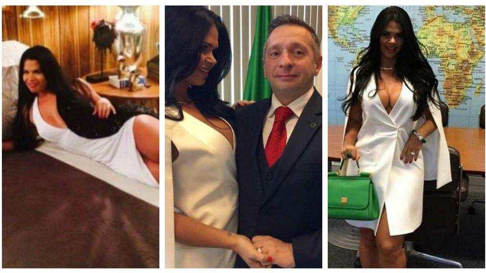 La mujer del ministro brasileño la lía con unas fotos de Facebook
