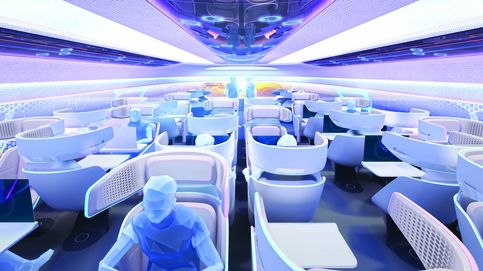 Este será el interior de los aviones en 2030 según Airbus