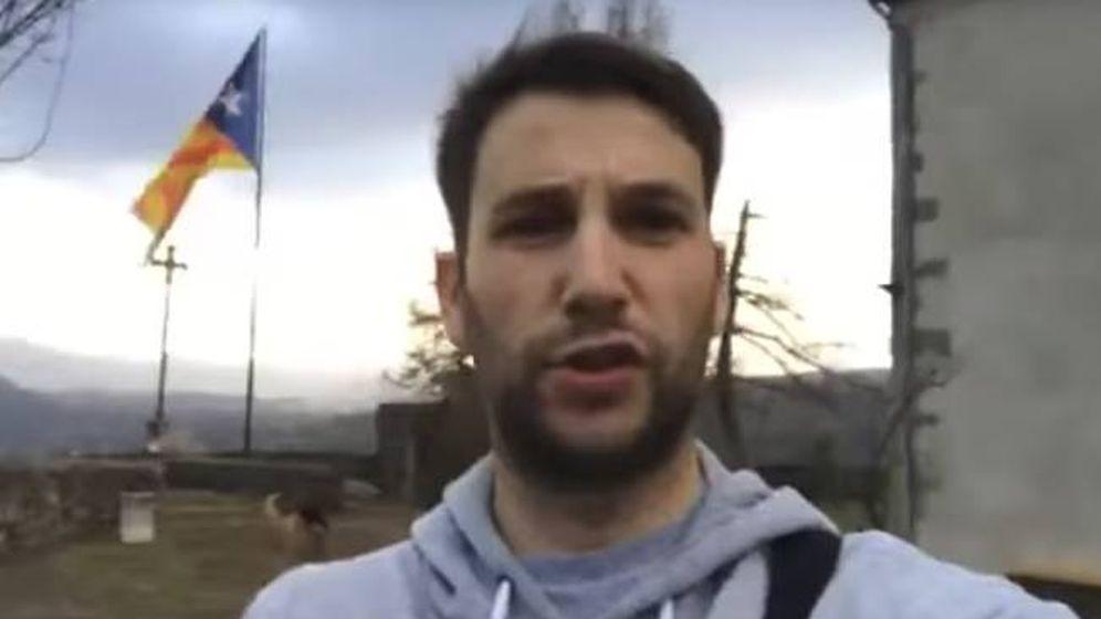 Foto: Albert Donaire, en uno de los vídeos de su canal de YouTube