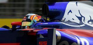 Post de Sainz y la duda en Toro Rosso: a ver quién es